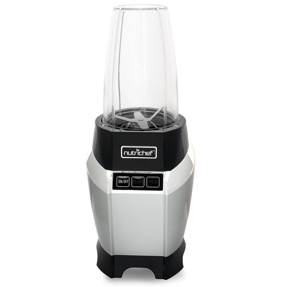 24 oz. 1-Speed Black Digital Countertop Power Pro Blender with Pulse Blend