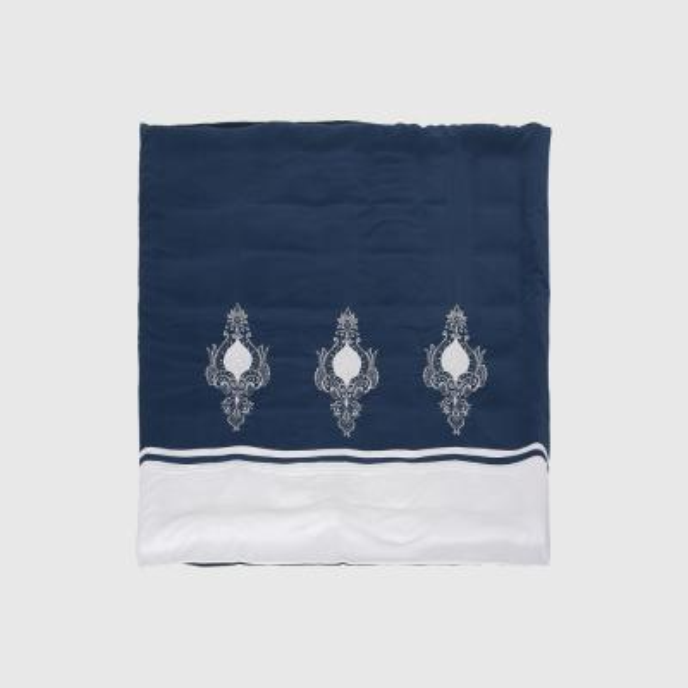 Bowden White Queen Duvet Cover