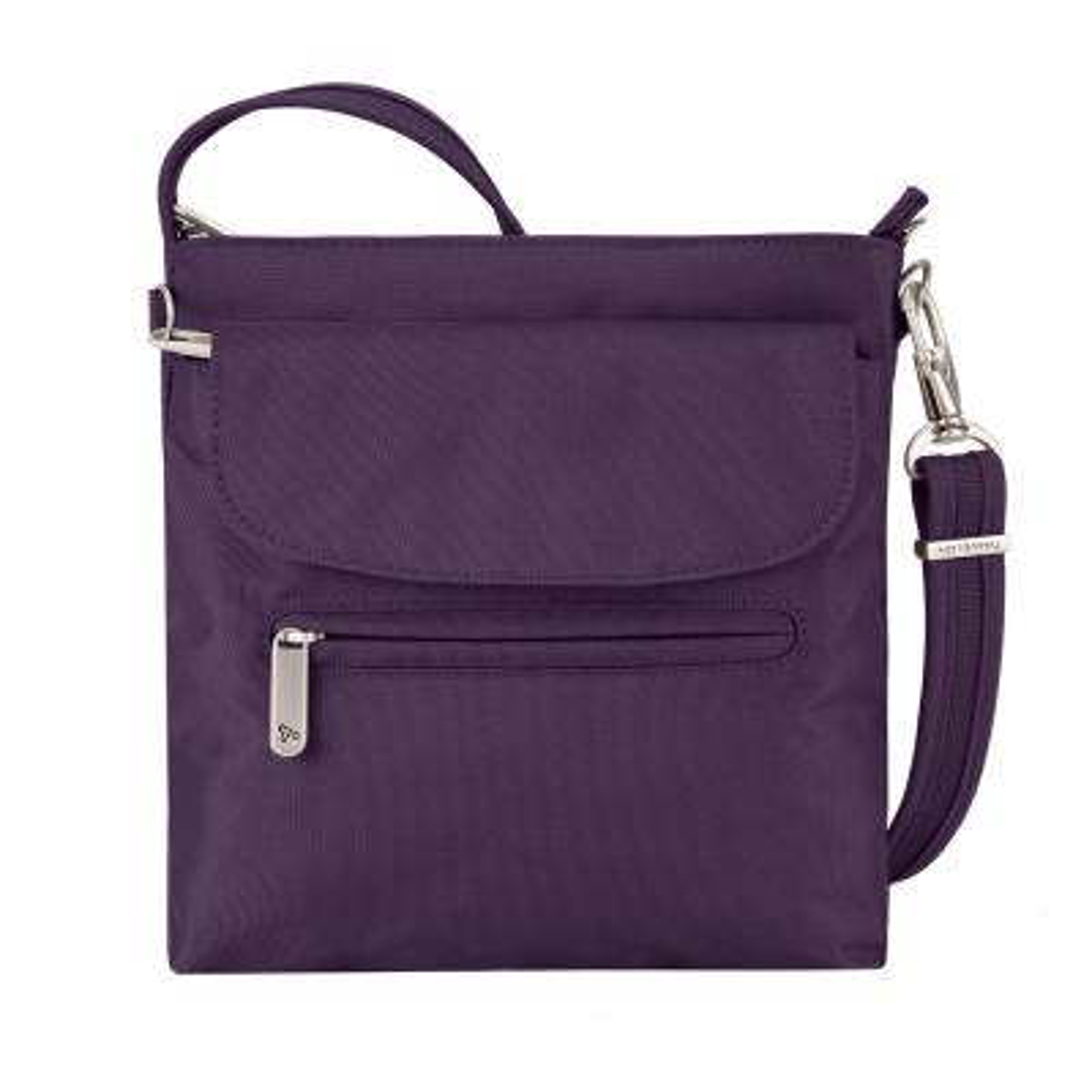 Purple Anti-Theft Mini Shoulder Bag