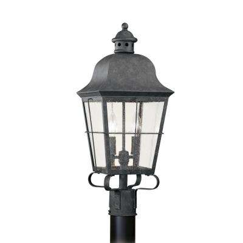 Chatham 2-Light Outdoor Oxidized Bronze Post Light