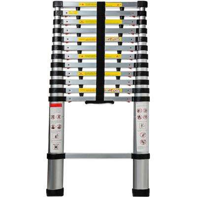 Telescoping Ladder 12.5ft. Aluminum Extension Ladder