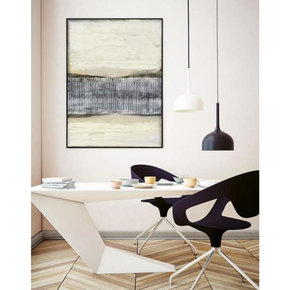 "Unbranded - 11 in. x 14 in. ""Divided Horizon I"" by Jennifer Goldberger Framed Wall Art"