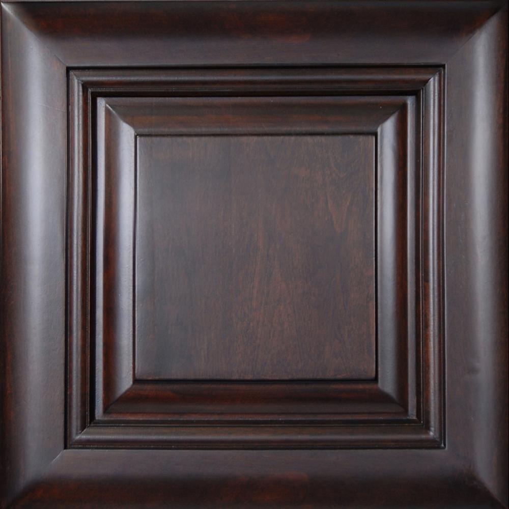 13x13 in. Cabinet Door Sample in Roxbury Manganite Glaze