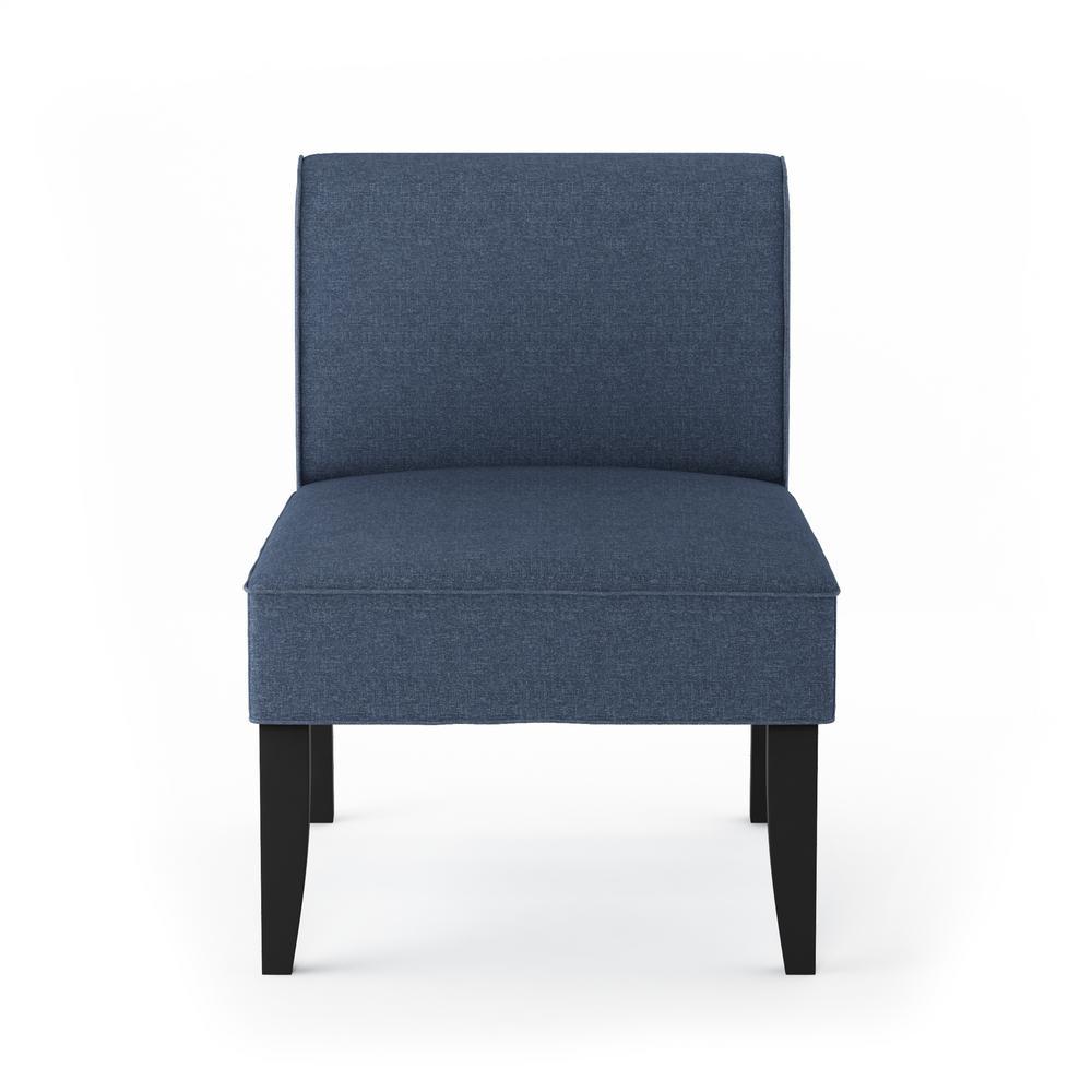 Furinno Belfort Denim Polyester Modern Accent Chair (Set of 2) FC18700DEN