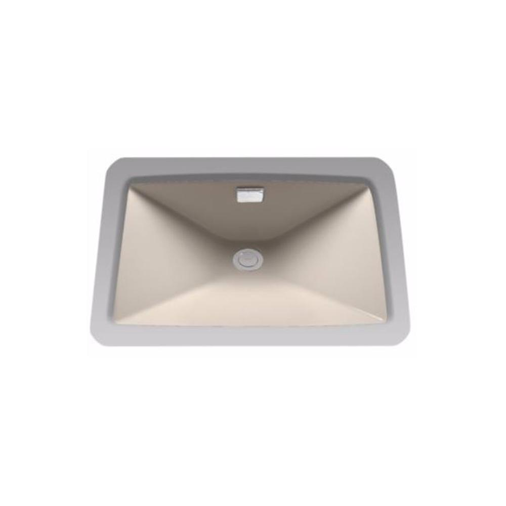 Toto Lloyd 21 In Undermount Bathroom Sink In Bone Lt931 03 The Home Depot