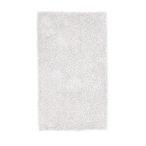 Company Cotton Chunky Loop White 40 in. x 24 in. Bath Rug
