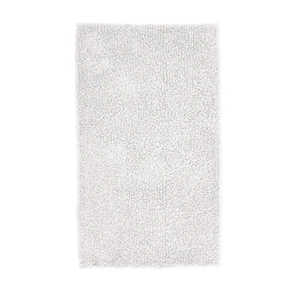 Company Cotton Chunky Loop White 24 in. x 40 in. Bath Rug