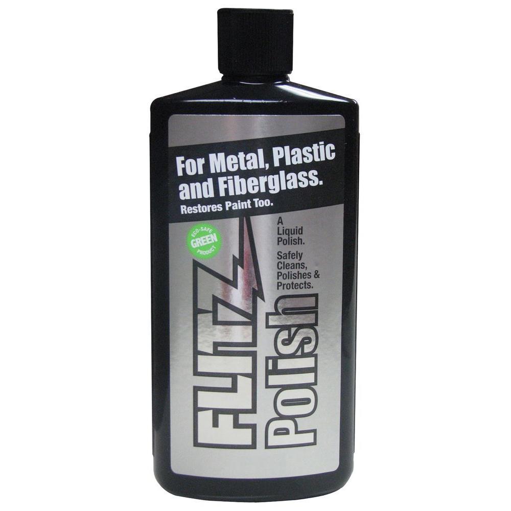 Flitz 34 Oz Metal Plastic And Fiberglass Liquid Polish Bottle Lq