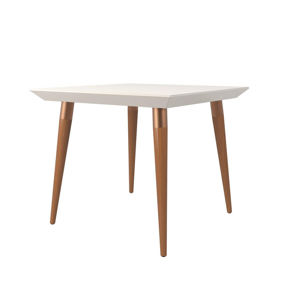 Manhattan Comfort Utopia 35 43 In Off White Square Dining Table