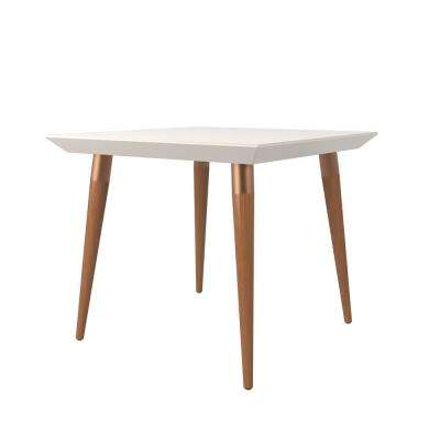 Utopia 35.43 in. Off-White Square Dining Table
