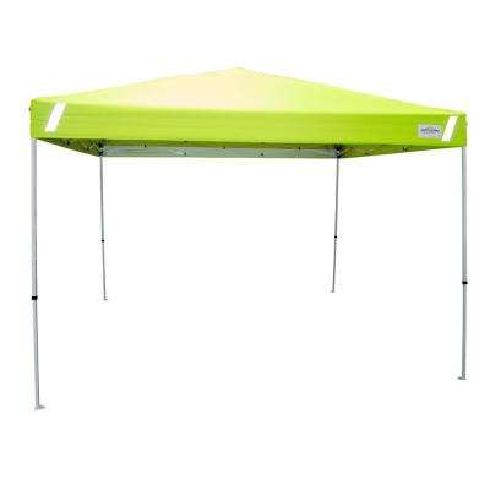 Pro V-Series 10 ft. x 10 ft. Hi-Viz Safety Straight Leg Canopy