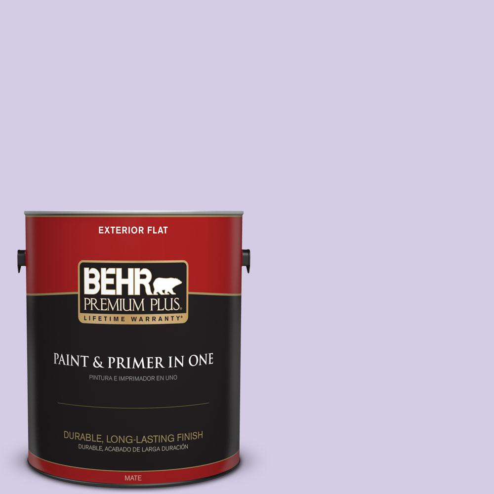 1-gal. #640A-3 Potentially Purple Flat Exterior Paint