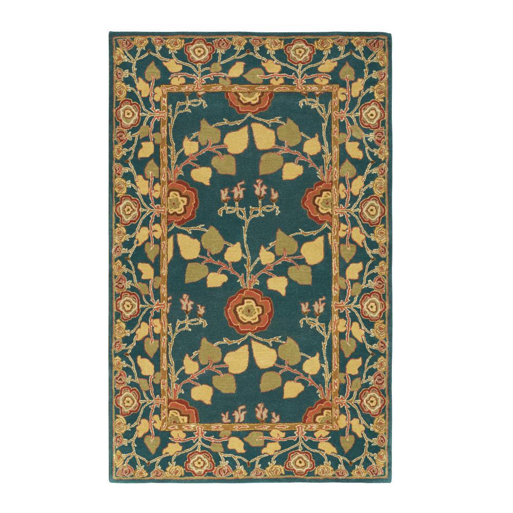 Home decorators collection patrician blue 4 ft x 6 ft for Home decorators collection rugs