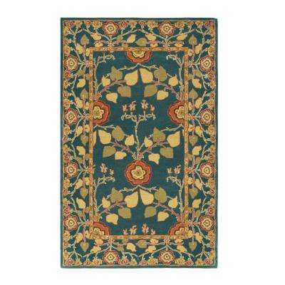 Patrician Blue 6 ft. x 9 ft. Area Rug