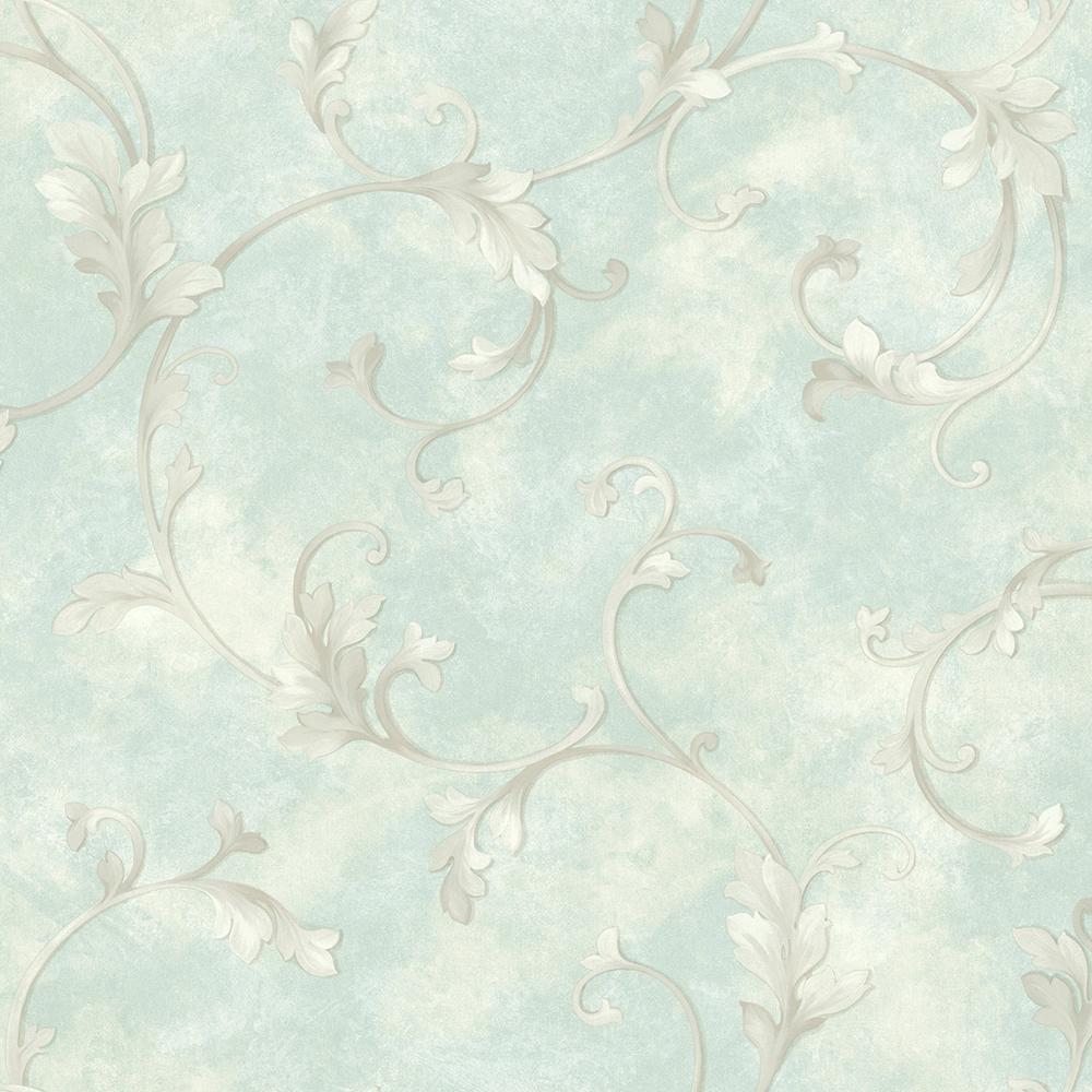 Sylvia Lavender Distressed Texture Wallpaper Sample
