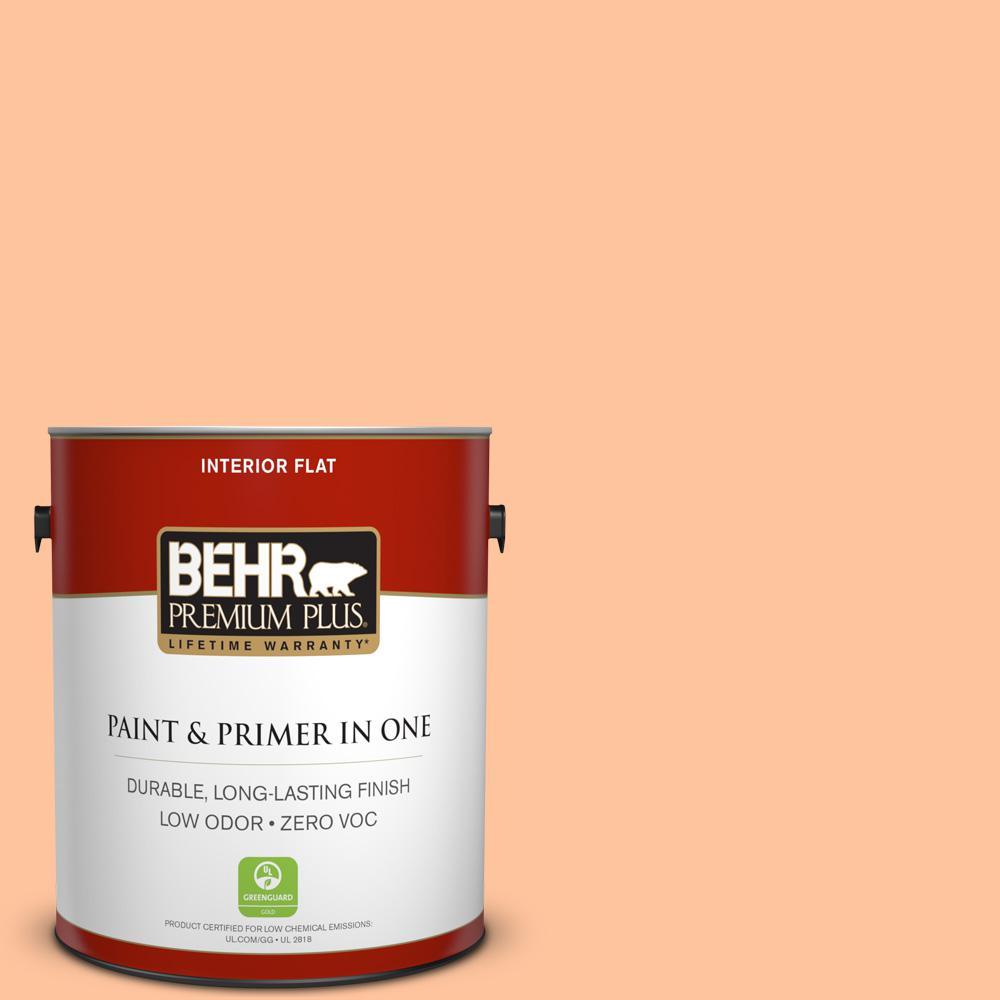 BEHR Premium Plus 1-gal. #P210-3 Gumdrops Flat Interior Paint