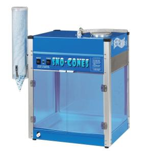 Blizzard 8000 oz. Blue Stainless Steel Countertop Snow Cone Machine