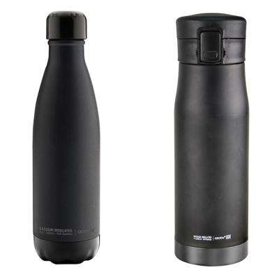 17 oz. Black Liberty Canteen and 17 oz. Black Central Park Water Bottle 2-Piece Kit