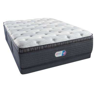 Platinum Haven Pines Luxury Firm Pillow Top Twin Low Profile Mattress Set