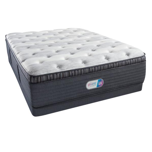 Beautyrest Platinum Haven Pines Luxury Firm Pillow Top King Low Profile