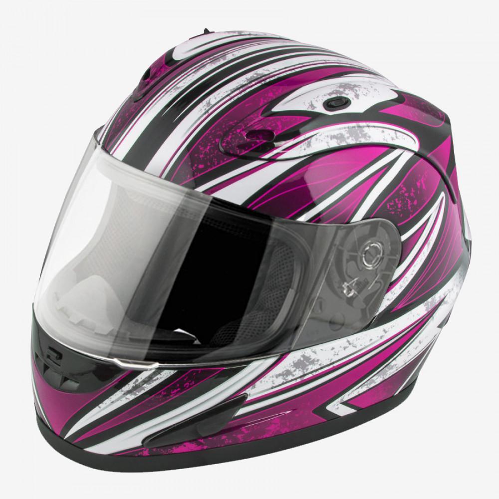 Lightweight Motorcycle Helmet >> Raider Octane X Large Pink Full Face Motorcycle Helmet