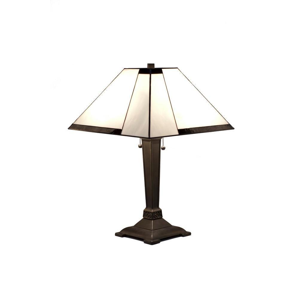 Tiffany Contemporary 23 in. Bronze Table Lamp