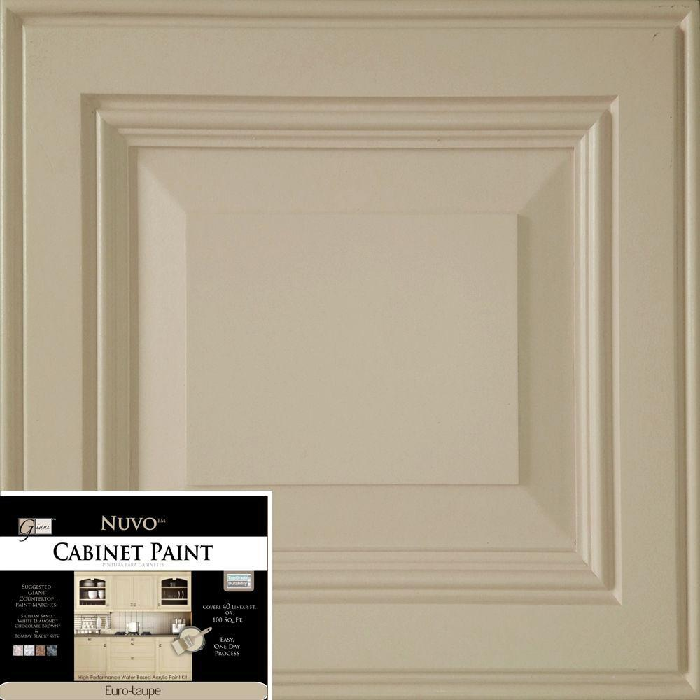 NuVo 2 qt. Euro-Taupe Cabinet Paint Kit-FG-NU TAUPE R - The Home Depot