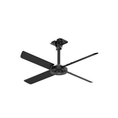 XP 7 ft. 110-Volt Single Phase HVLS Indoor Anodized Black Ceiling Fan with Wall Control