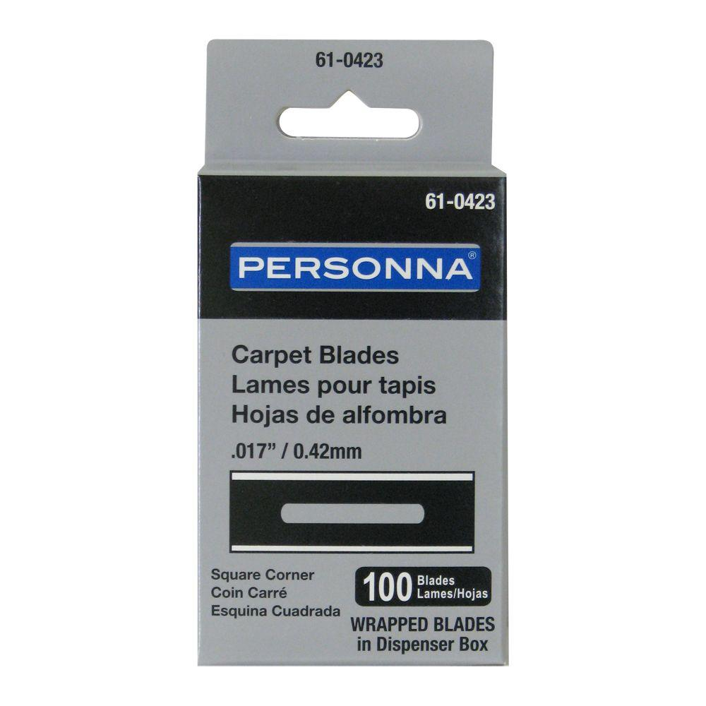 Personna 1/8 in. Carpet Blades (100-Count)