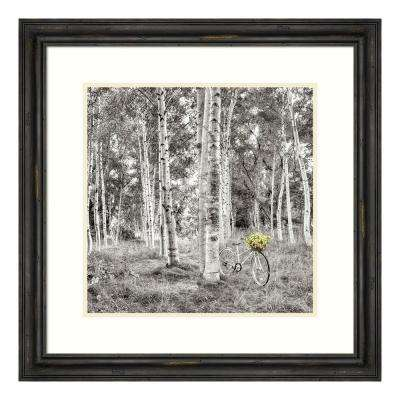 """""""Sunflower Bicycle Ride"""" by Alan Blaustein Framed Wall Art"""