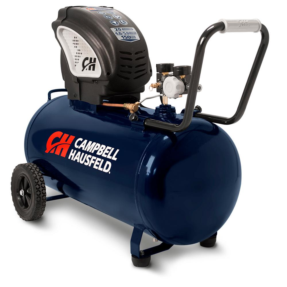 Campbell Hausfeld 20 Gal. Portable Horizontal Electric Air Compressor