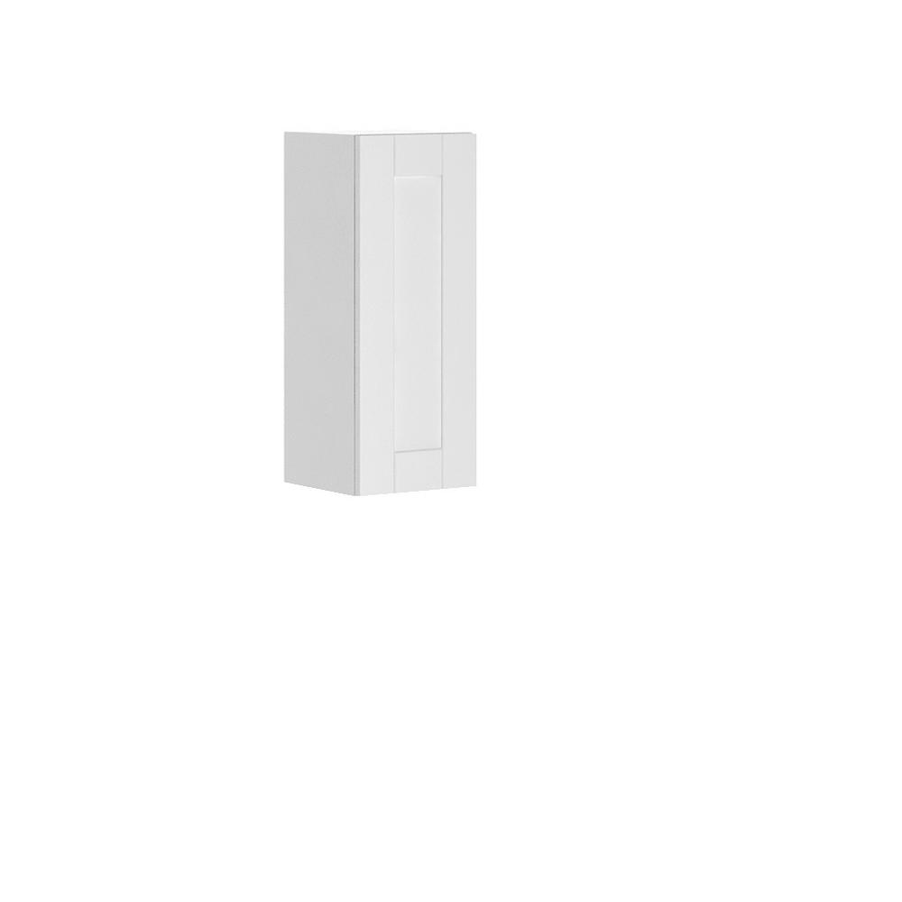 Dublin Ready to Assemble 12x30x12.5 in. Oxford Wall Thermofoil Cabinet with