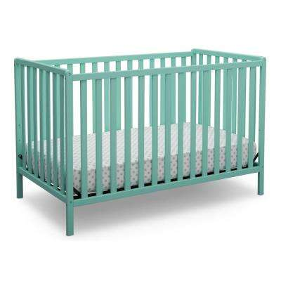 Aqua Heartland 4-in-1 Convertible Crib