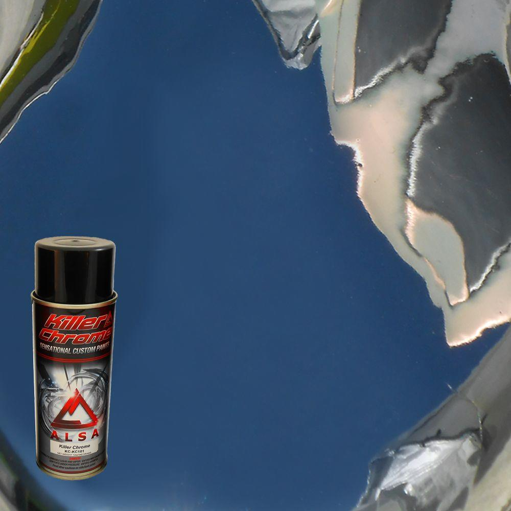 Alsa Refinish 12 Oz Chrome Cans Spray Paint