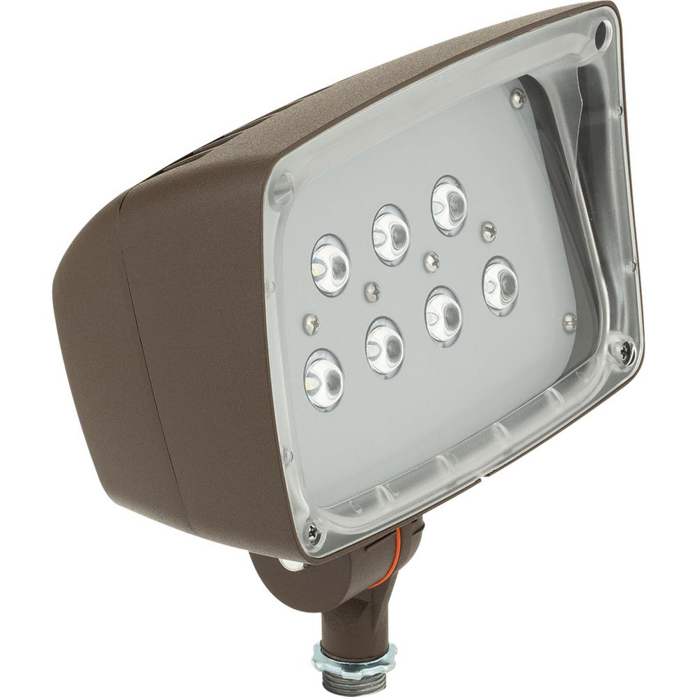Bronze Outdoor LED Flood Light