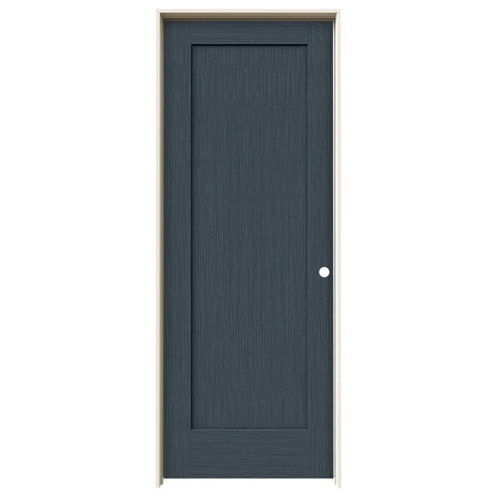 Jeld Wen 30 In X 80 In Madison Denim Stain Left Hand