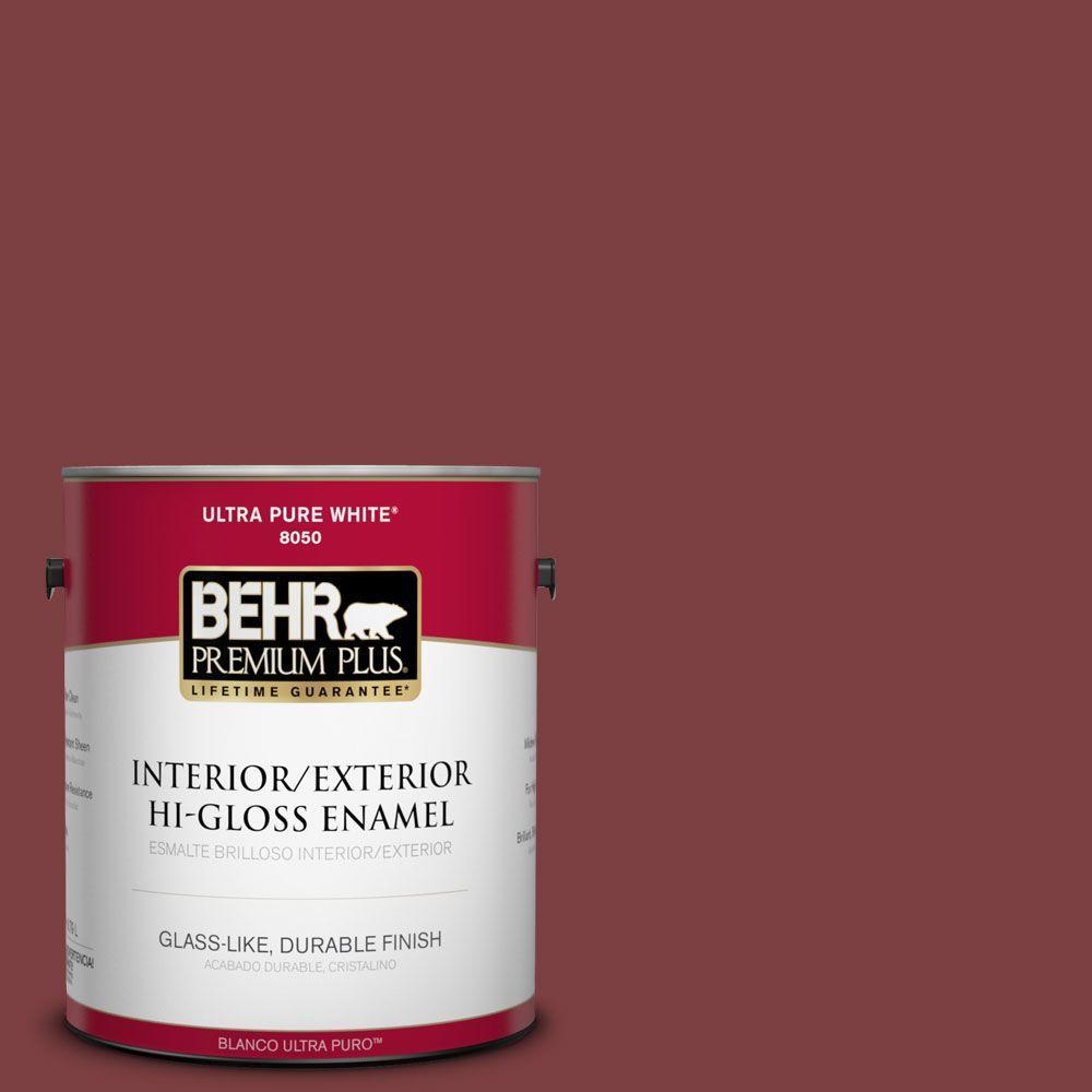 Home Decorators Collection 1-gal. #HDC-CL-11 January Garnet Hi-Gloss Enamel