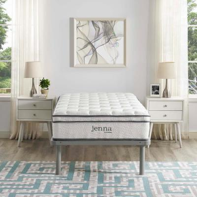 Jenna 10in. Medium Innerspring Tight Top Twin Mattress
