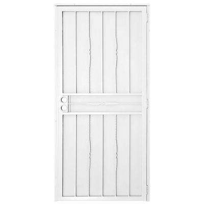 Cottage Rose Outswing Security Door  sc 1 st  The Home Depot & White - 30 x 80 - Security Doors - Exterior Doors - The Home Depot pezcame.com