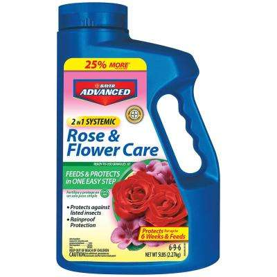 5 lbs. Granules 2-in-1 Systemic Rose and Flower Care