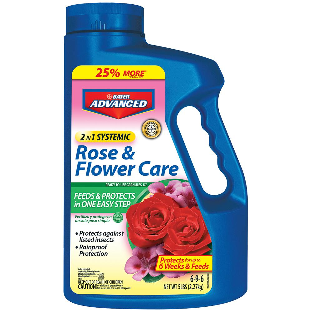 5 lb. Granules 2-in-1 Systemic Rose and Flower Care