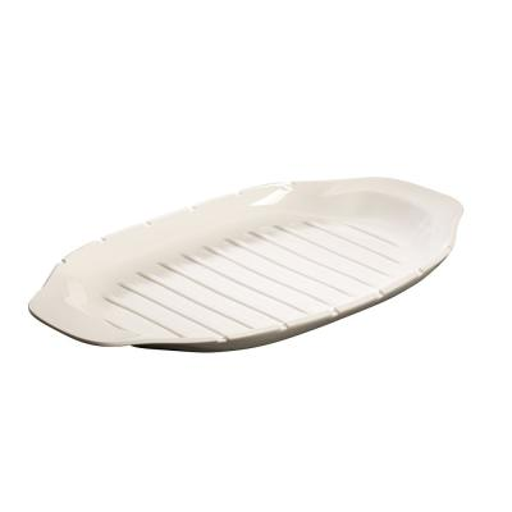 BBQ Passion White Porcelain Kebab Platter