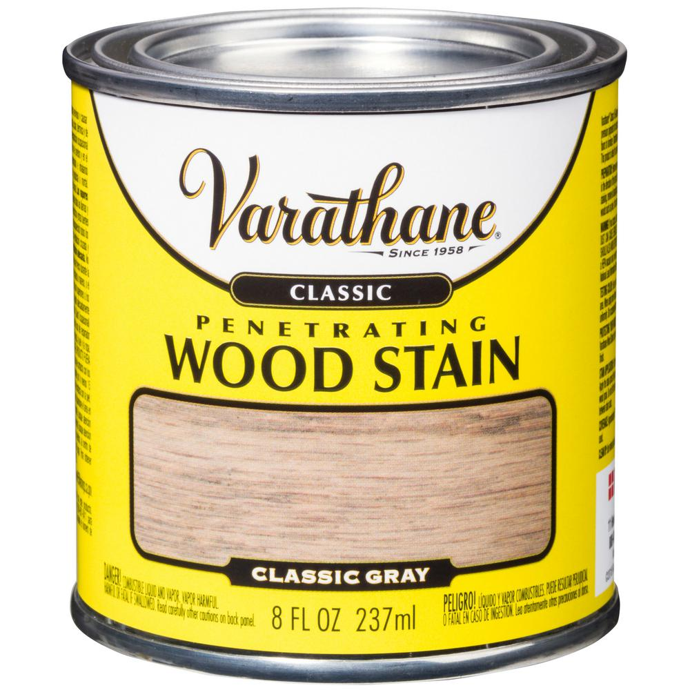 Varathane 8 oz. Gray Classic Wood Interior Stain Classic