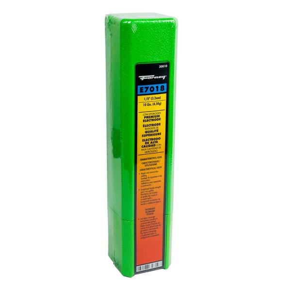 Forney 30810 E7018 Welding Rod 1//8inch 10 Pound Easy to Use