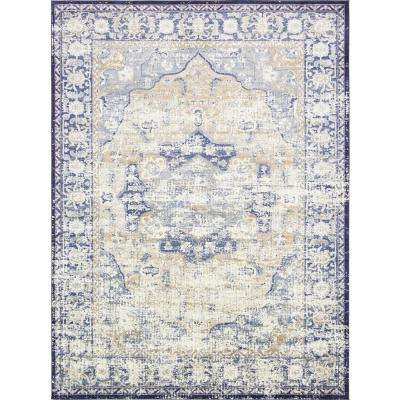Lexington Blue 10 ft. 6 in. x 16 ft. 5 in. Area Rug