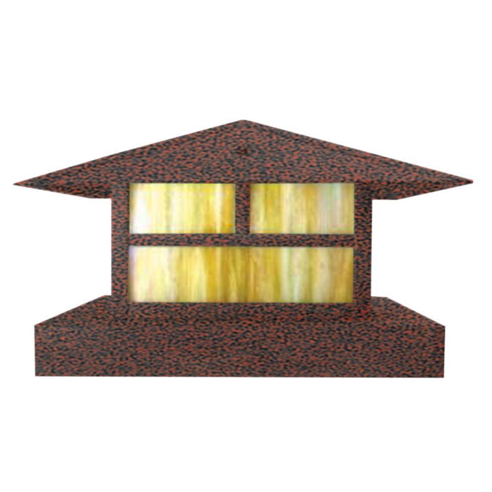 Centennial 1-Light Outdoor LED Rust Area Light