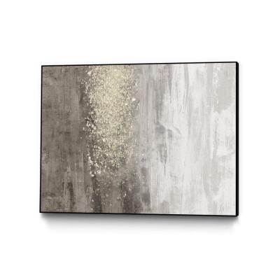 "30 in. x 40 in. ""Glitter Rain II"" by Jennifer Goldberger Framed Wall Art"