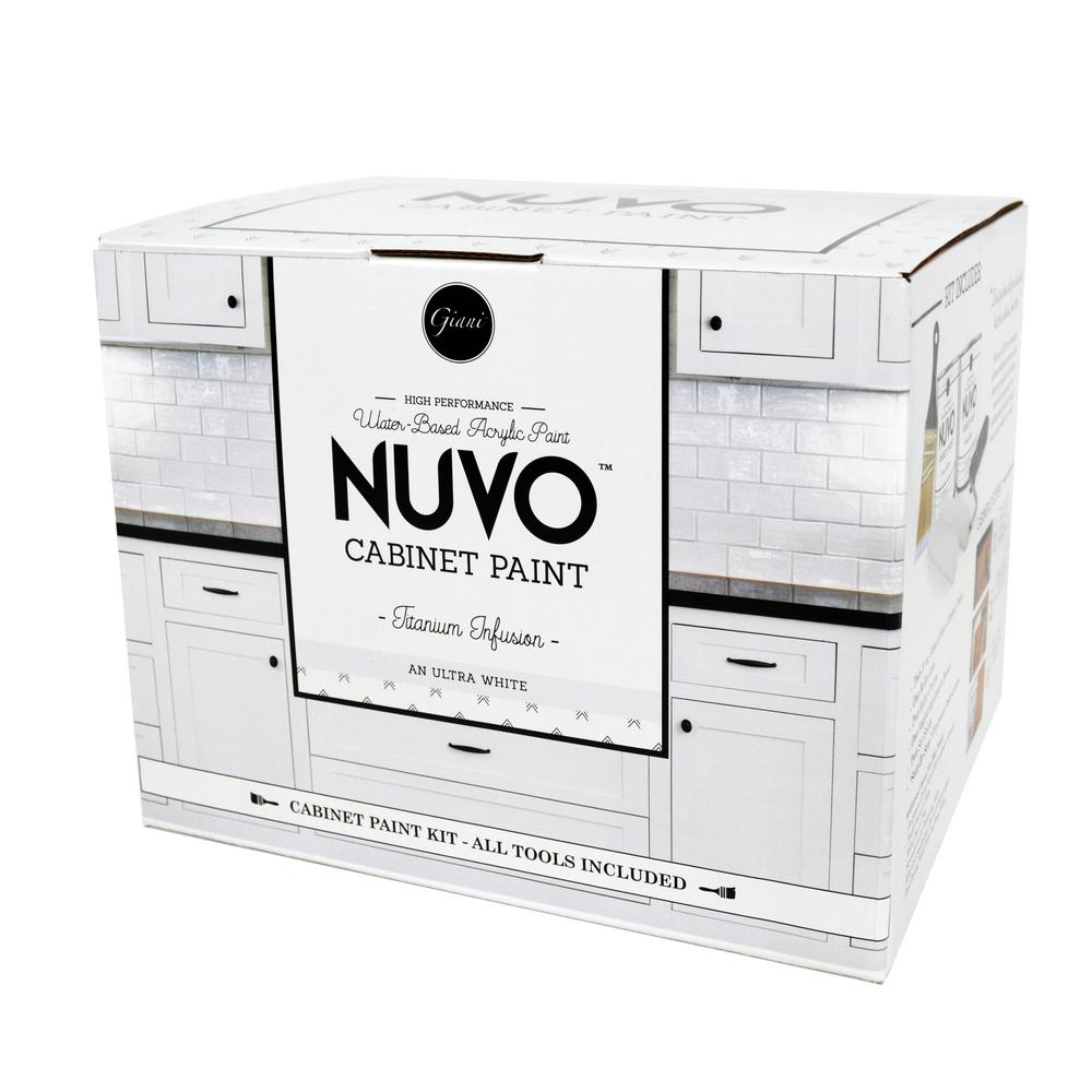 Anium Infusion White Cabinet Paint Kit