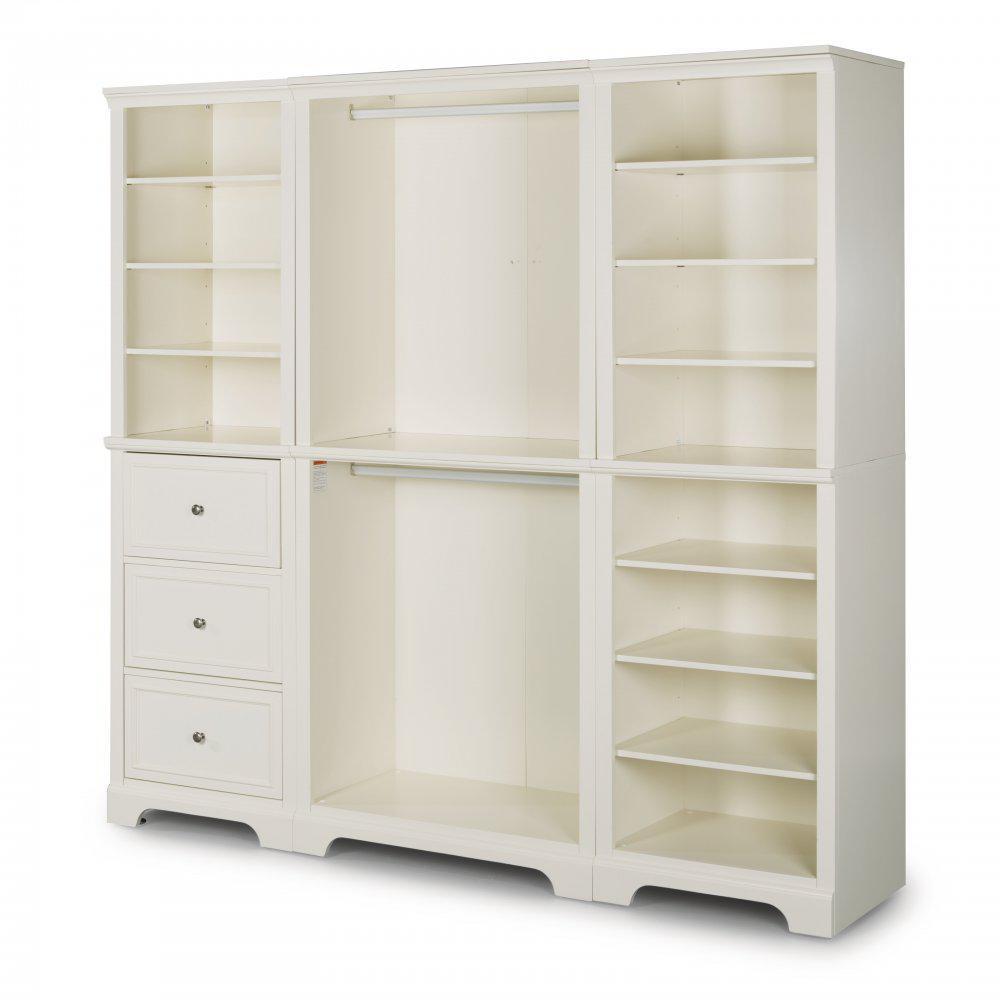 Home Styles Naples White Armoire 5530-7512