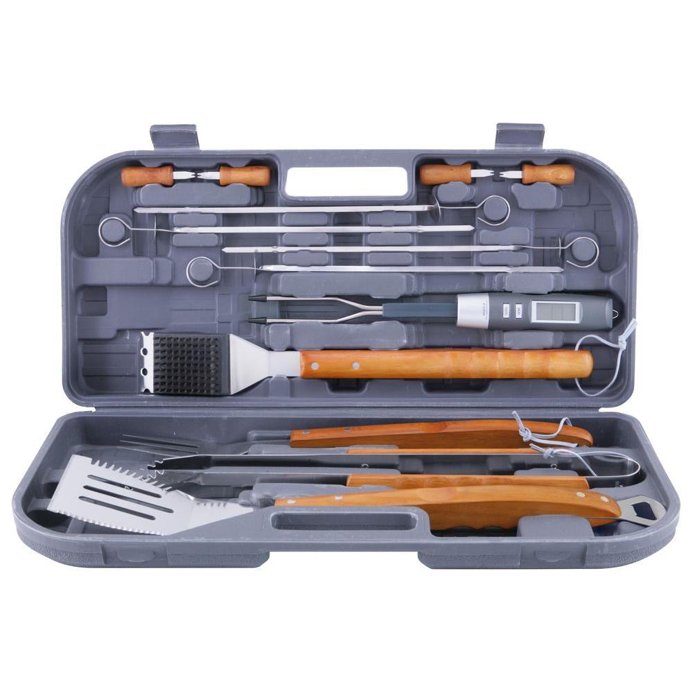 12-Piece Tool Set with Bonus Thermo Fork